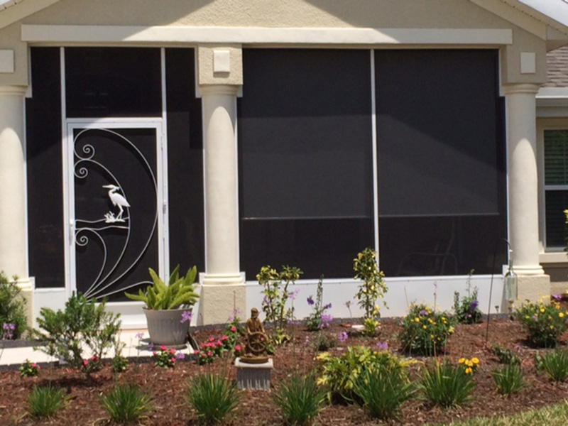 Bach Porch Screening And Screen Door By East Coast Aluminum ...
