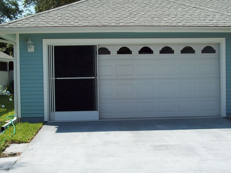 garage door screensGallery of Screened Porches Screen Doors and Garage Screens