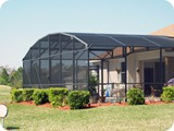 Pool enclosure in Holly Hill by East Coast Aluminum