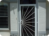 Screened storm doors in Palm Coast by East Coast Aluminum