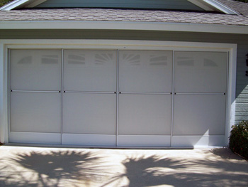 Daytona Beach Garage Door Screens & Garage Screen Doors - Ormond Beach Daytona Beach Palm Coast Floriida